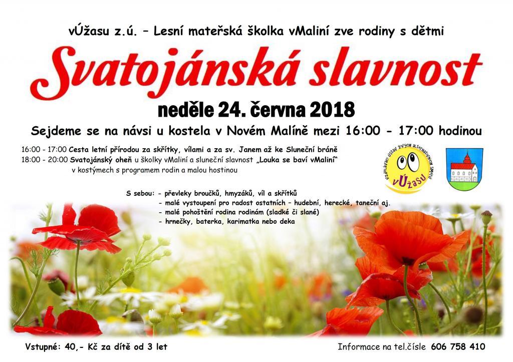 Svatojánská slavnost 6 18   plakátek
