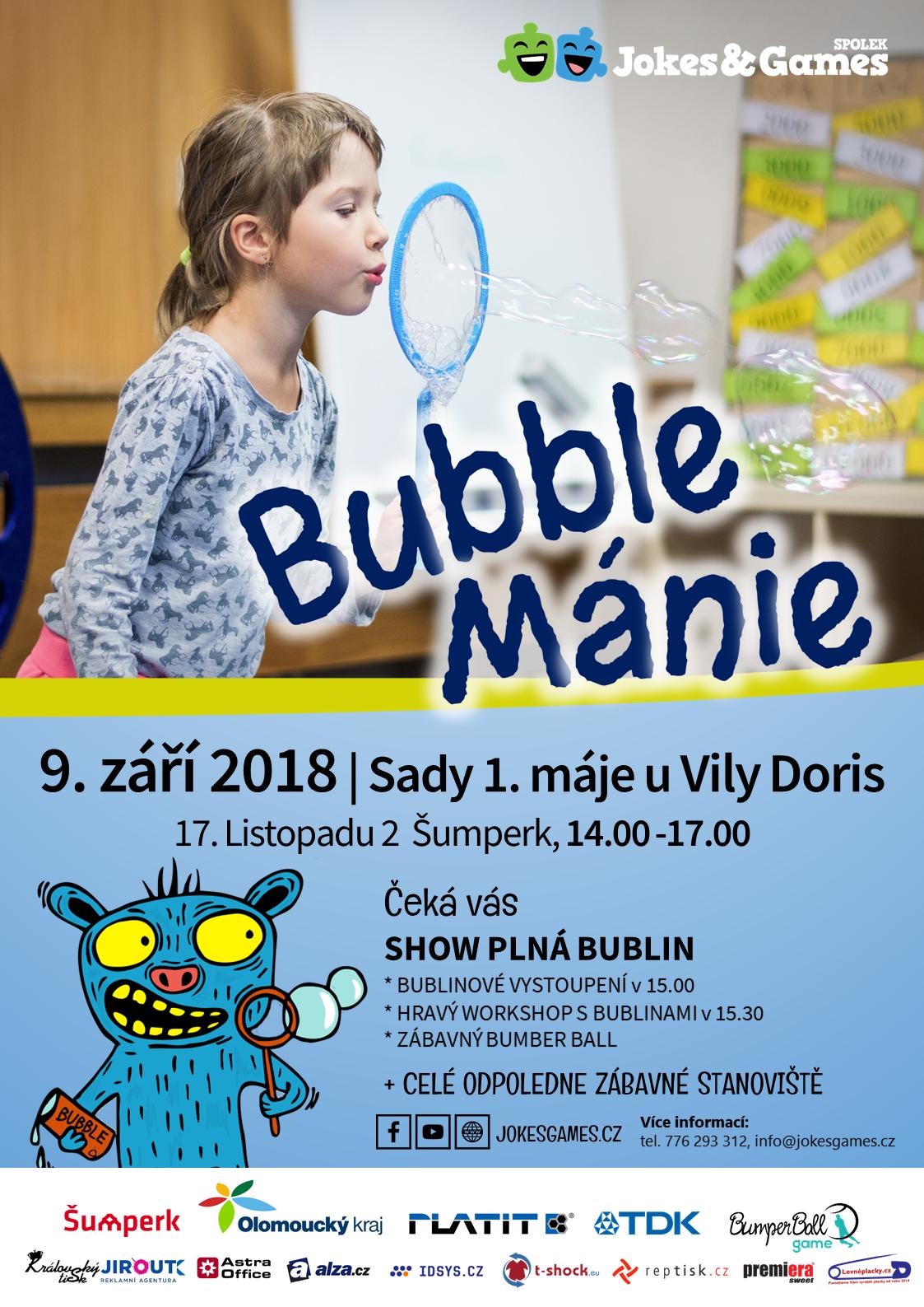 bubble plakat