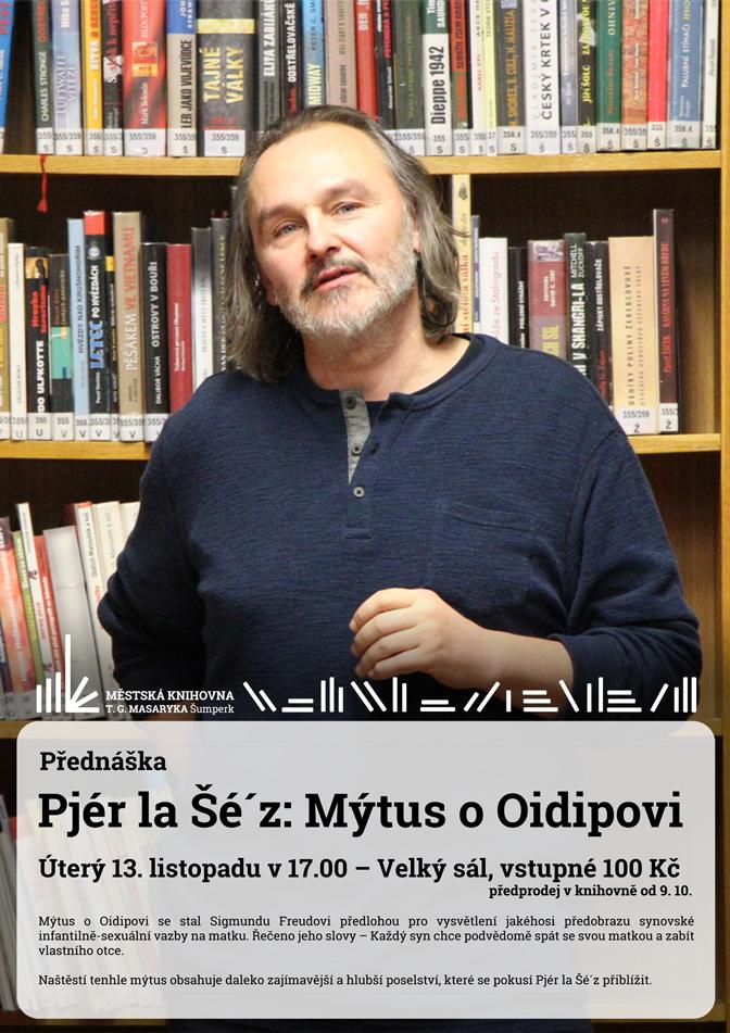 přednáška Oidipus