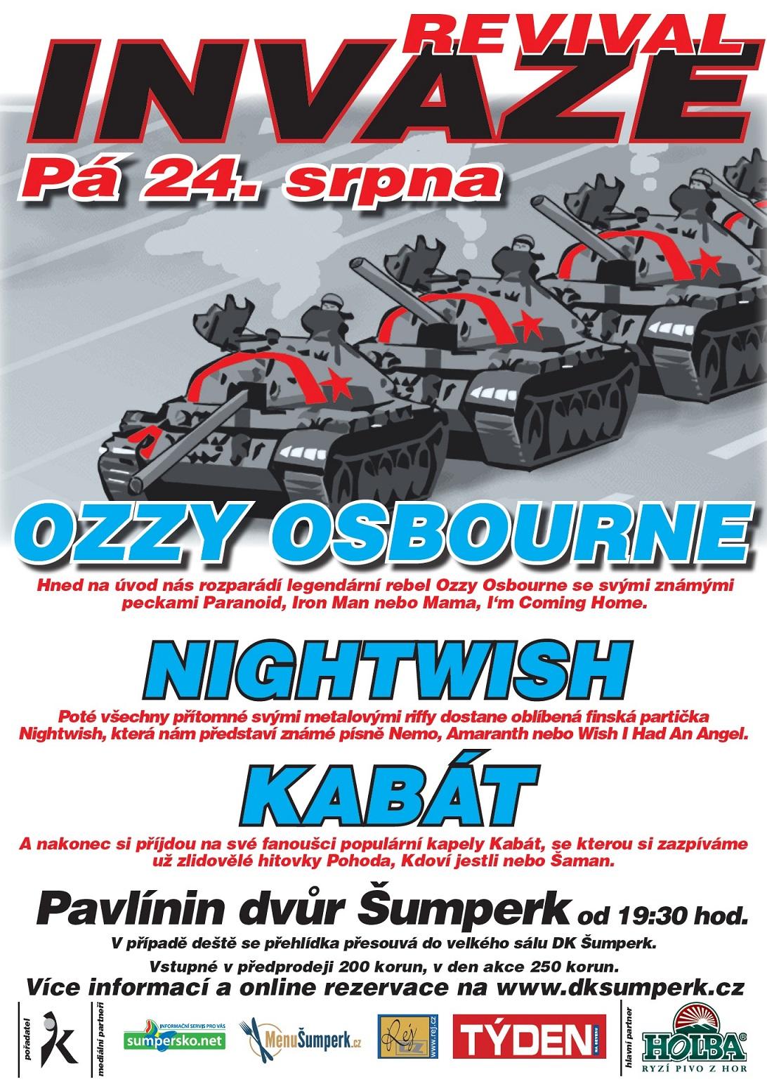 Revival Invaze   plakát 2018