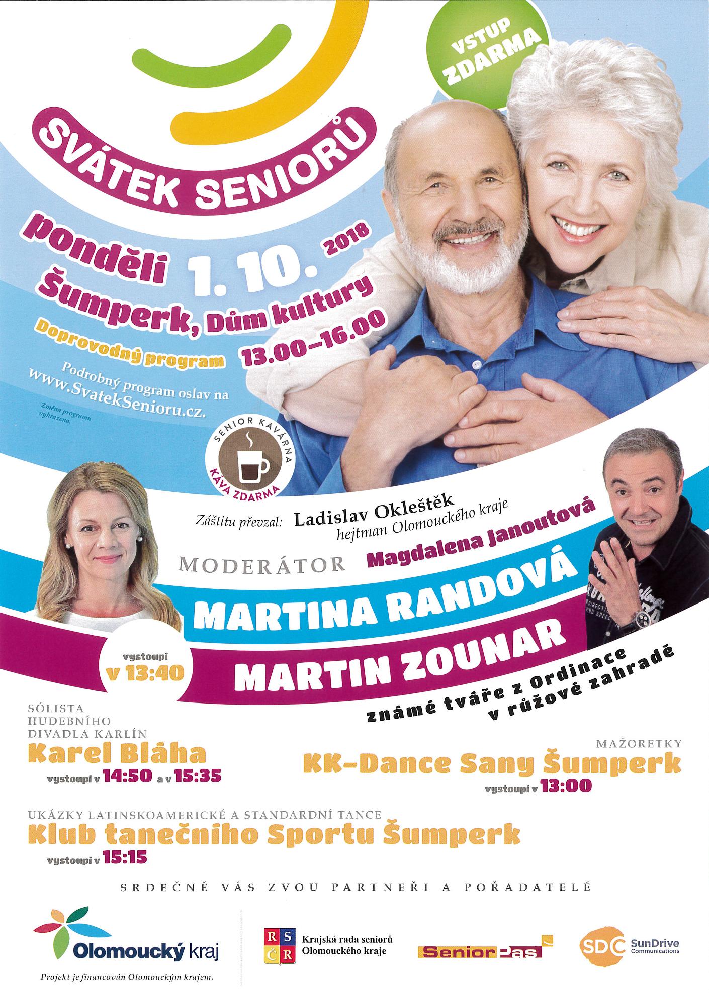 Svátek seniorů 2018