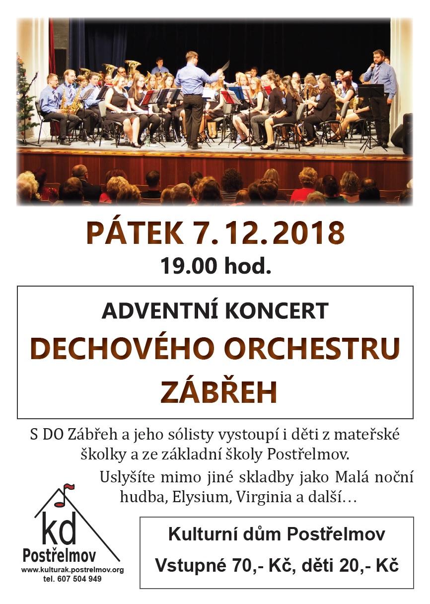 Dechový orchestr 2018