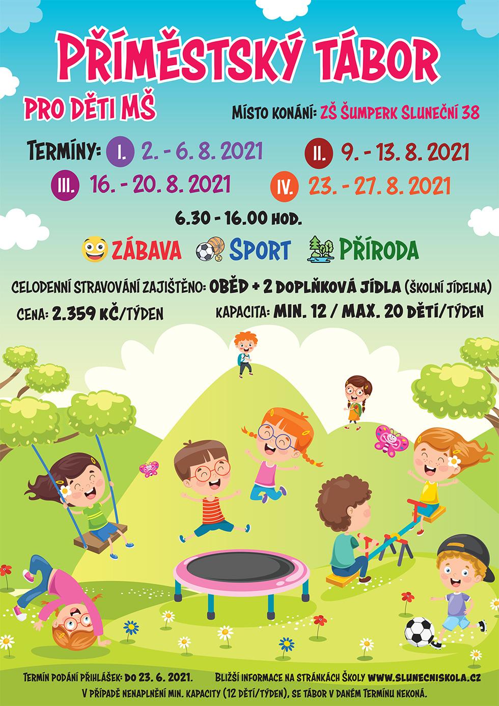 Primestsky tabor 2021 plakát
