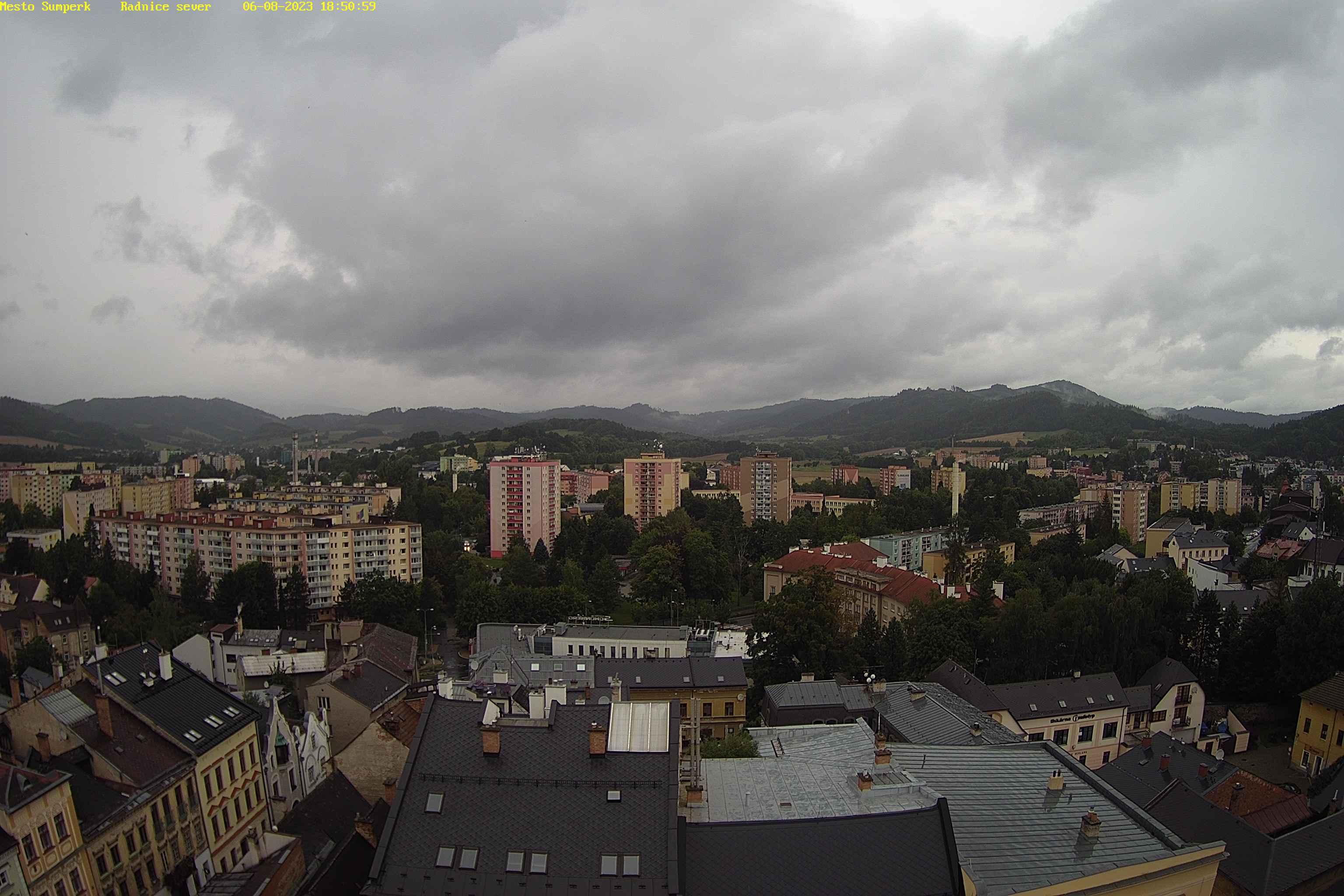 Webkamera - Šumperk